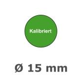 KALIBRIERT Ø 15mm - grün
