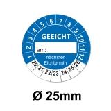 GEEICHT Ø 25mm - blau