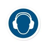 25x Aufkleber M003 Gehörschutz benutzen