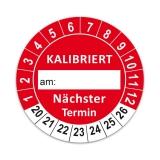 KALIBRIERT Ø 30mm - rot