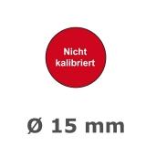 NICHT KALIBRIERT Ø 15mm - rot