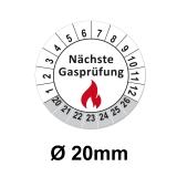 Gasprüfung Ø 20mm