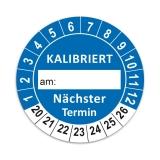 KALIBRIERT Ø 30mm - blau