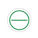 Stromkreis 2-Felder Ø 30mm - grün